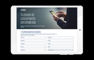 Newsletter personalizada KPMG