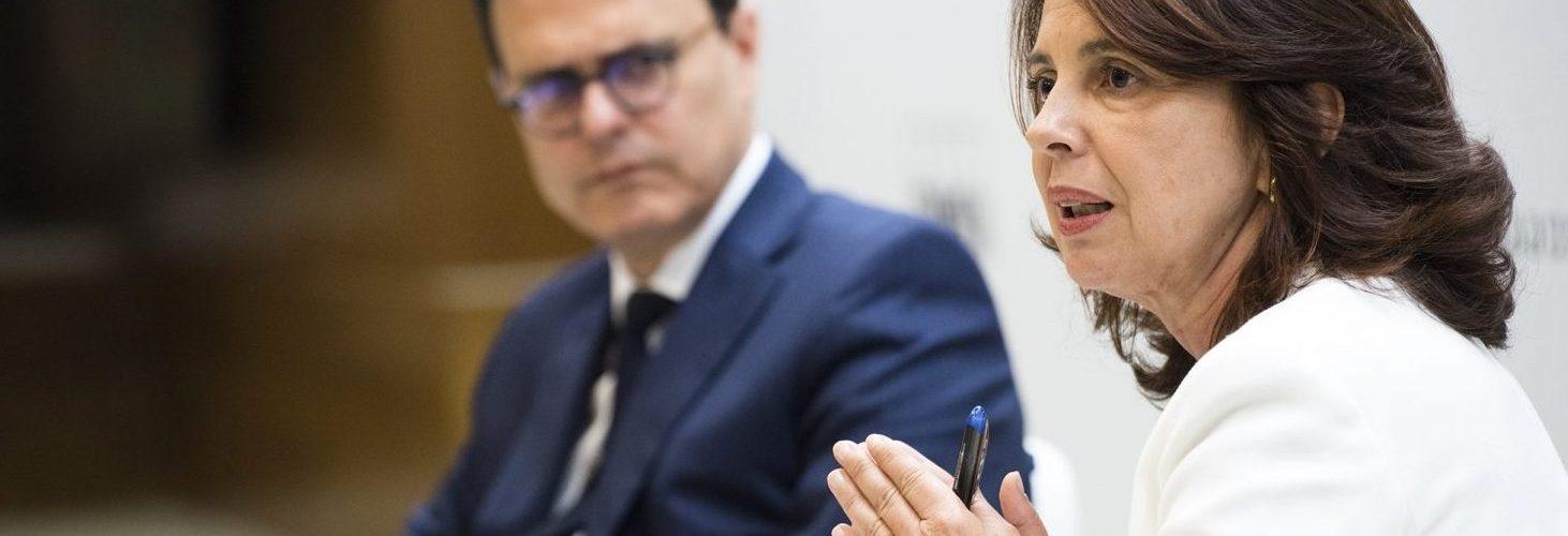 Eva Castillo y Nacho Faus en el Foro del Consejero