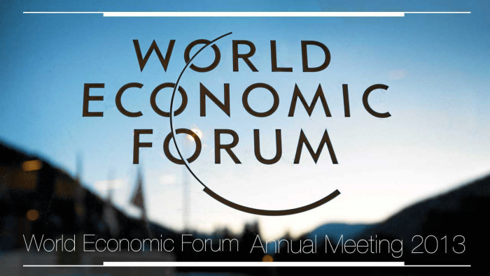 world economic forum annual meeting 2013
