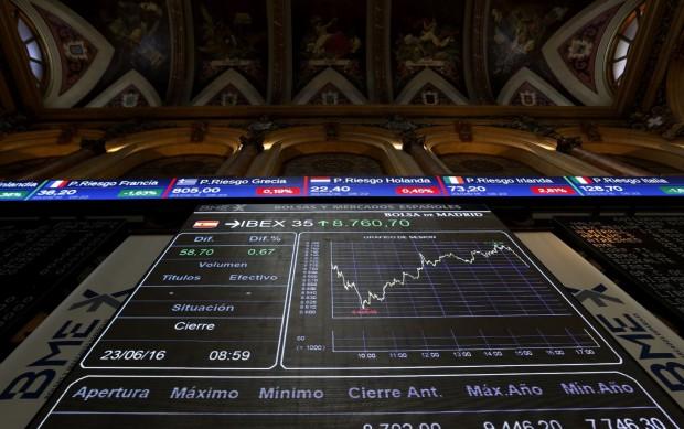 ibex 35 , resultados, bancos